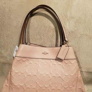 Coach Lexy shoulder bag in signature leather